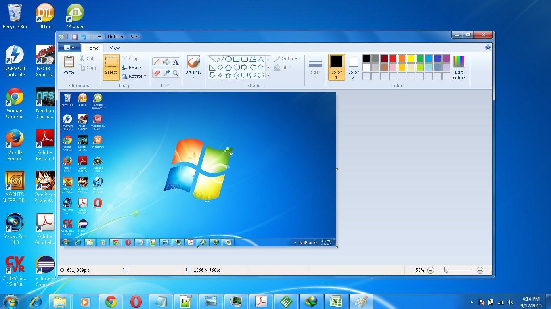 Cara Screenshoot layar Laptop