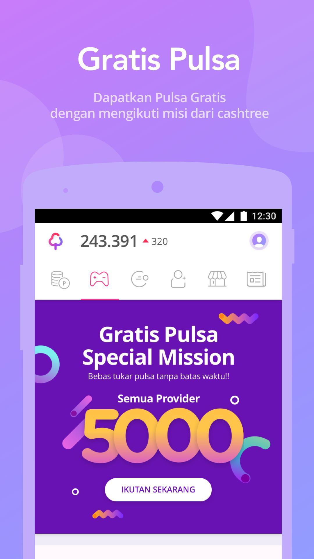 aplikasi gratis pulsa