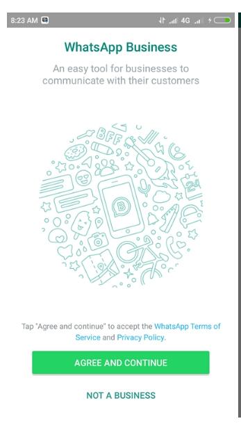 Mendaftar WhatsApp Business