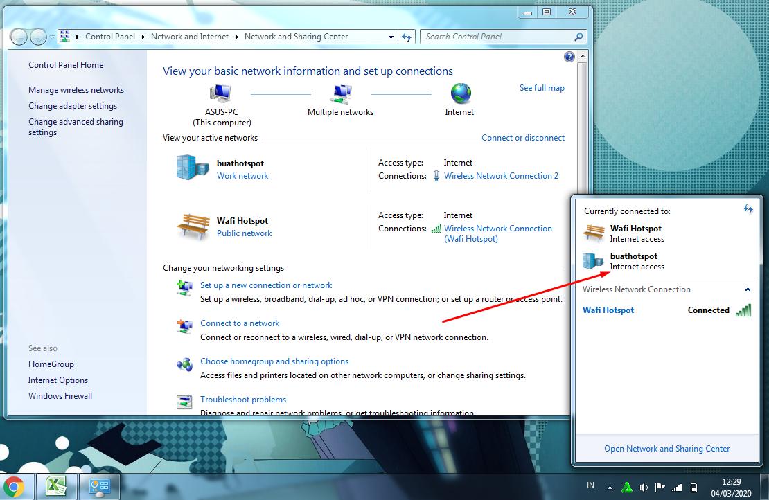 Cara Membuat Hotspot di Laptop Windows 7