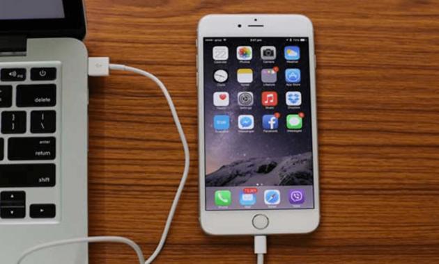 Cara Memindahkan File Dari iPhone ke Laptop