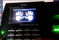 Cara Koneksi Fingerprint Solution x100c