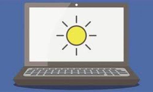 Adjust Screen Brightness Windows 7 Tidak Ada di Komputer